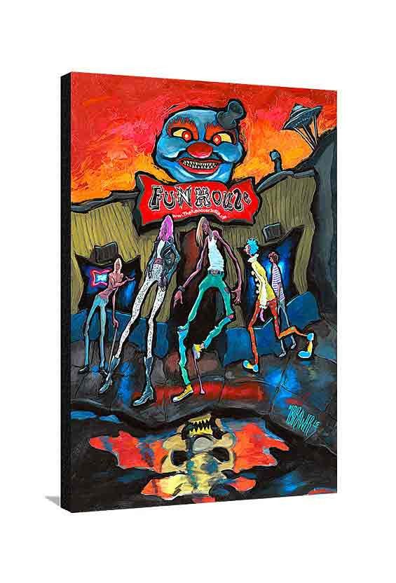 Funhouse Large Canvas