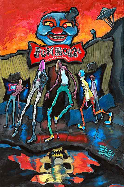 Funhouse Original Painting