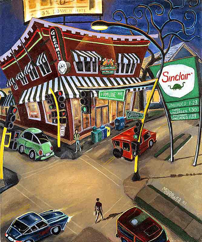 Hamline & Grand Original Painting