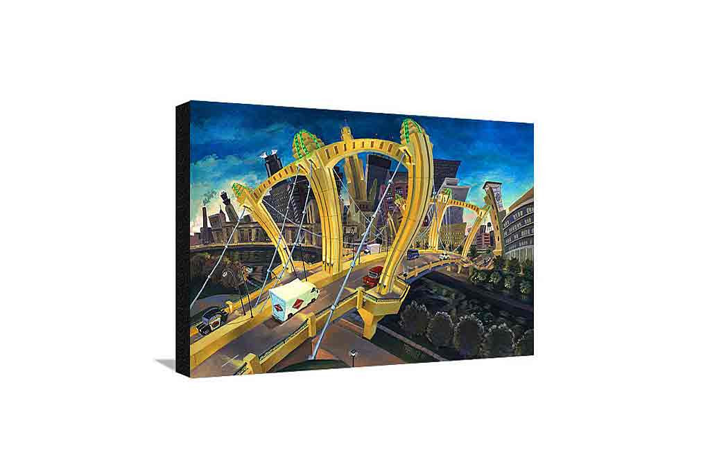 Hennepin Bridge Medium Canvas