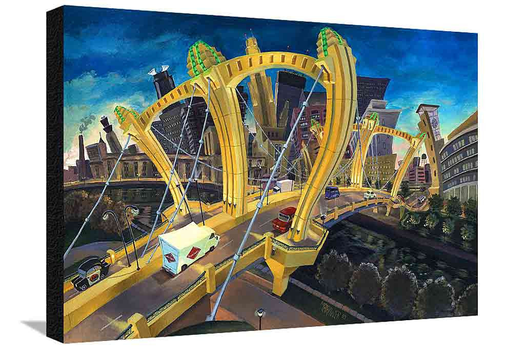 Hennepin Bridge XL Canvas