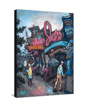 Ivar's Pier 57 Large Canvas