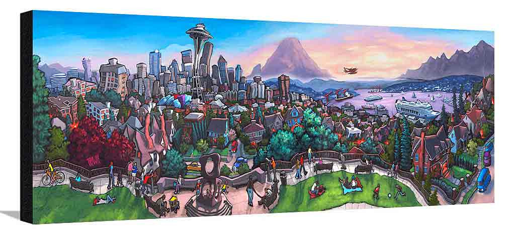Kerry Park Seattle XL Canvas