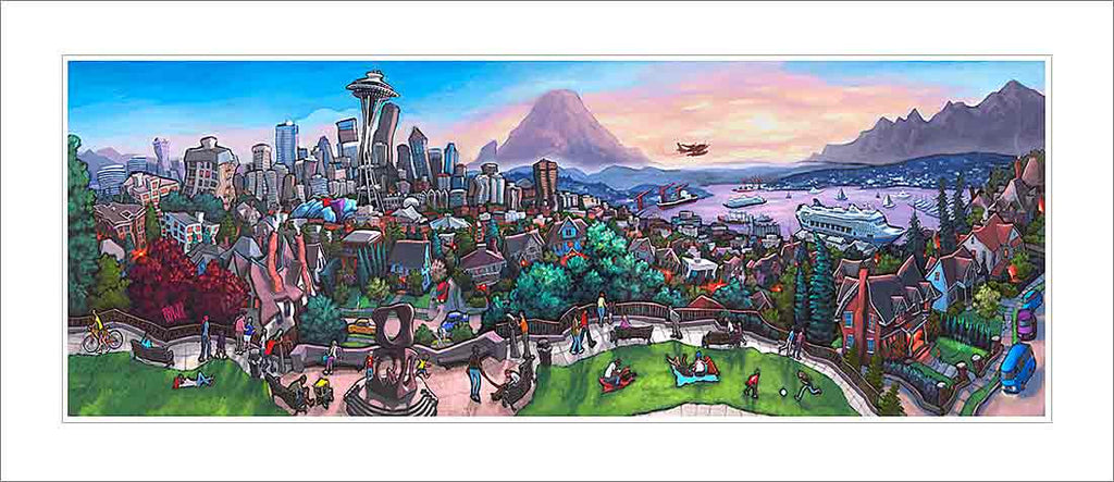 Kerry Park Seattle Small Canvas