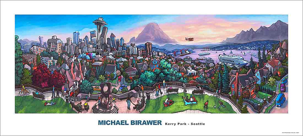 Kerry Park Seattle Poster