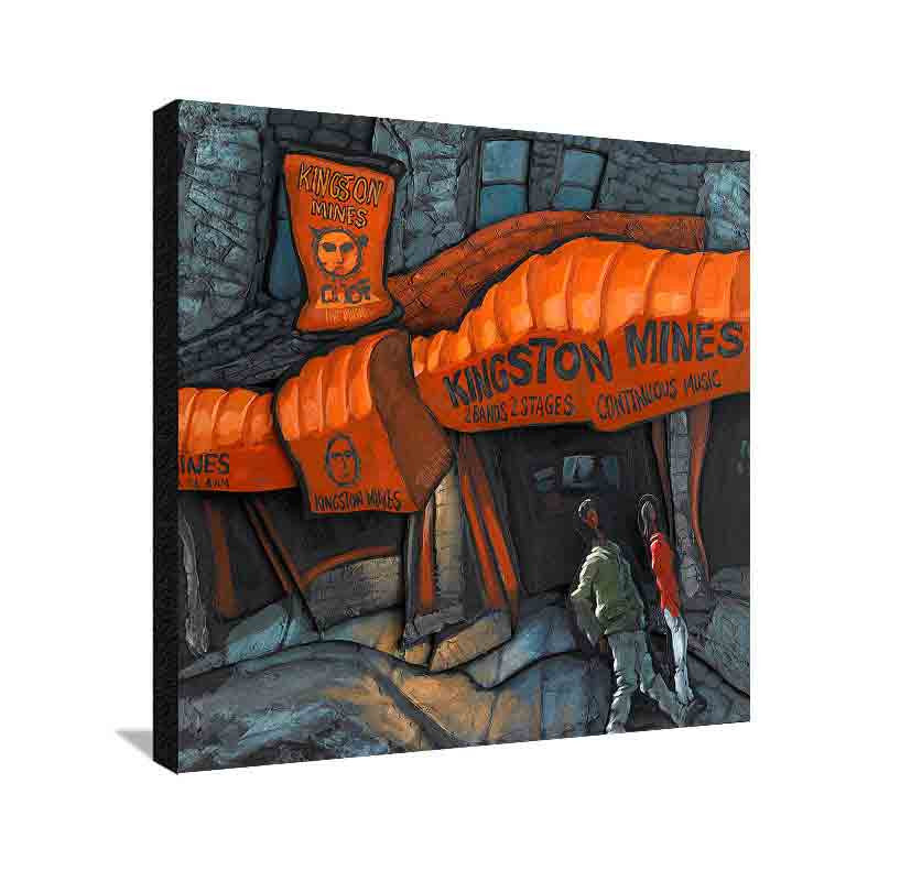 Kingston Mines Medium Canvas