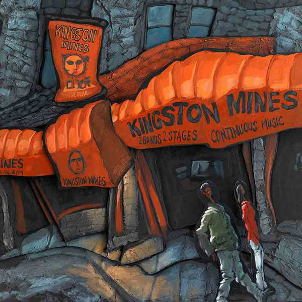 Kingston Mines Original Painting