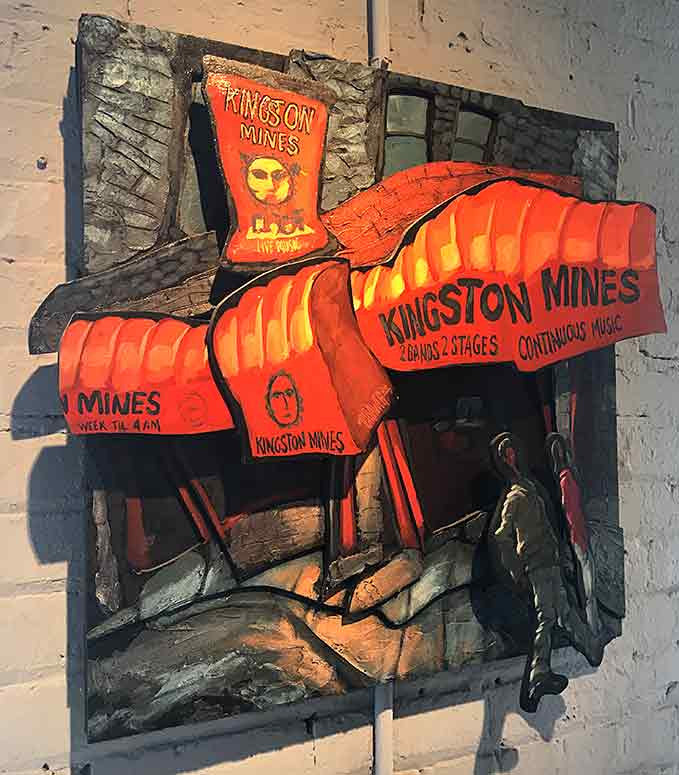 Kingston Mines - Chicago Original Painting