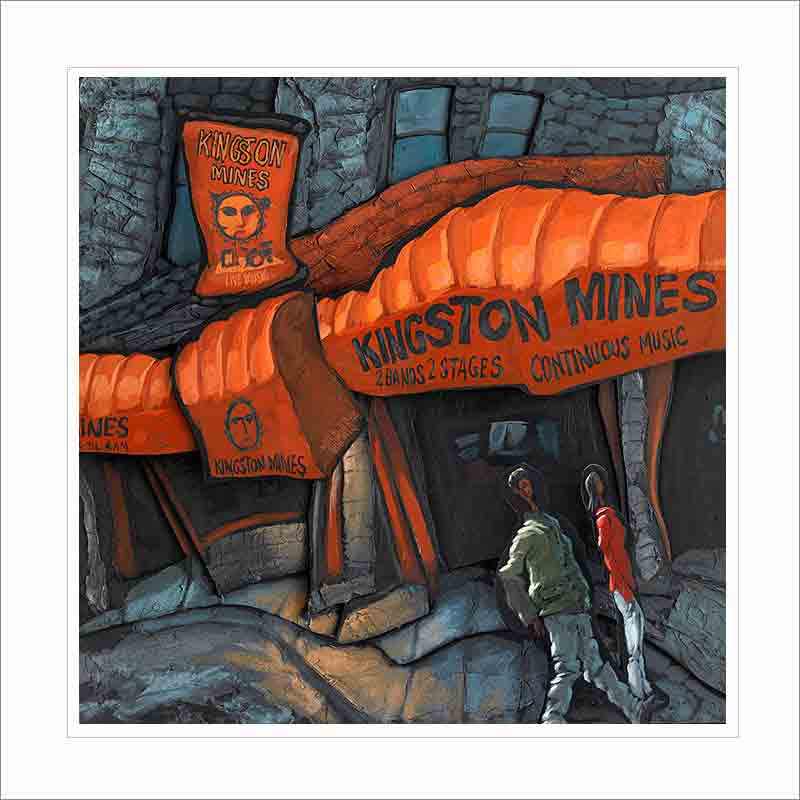 Kingston Mines Small Canvas