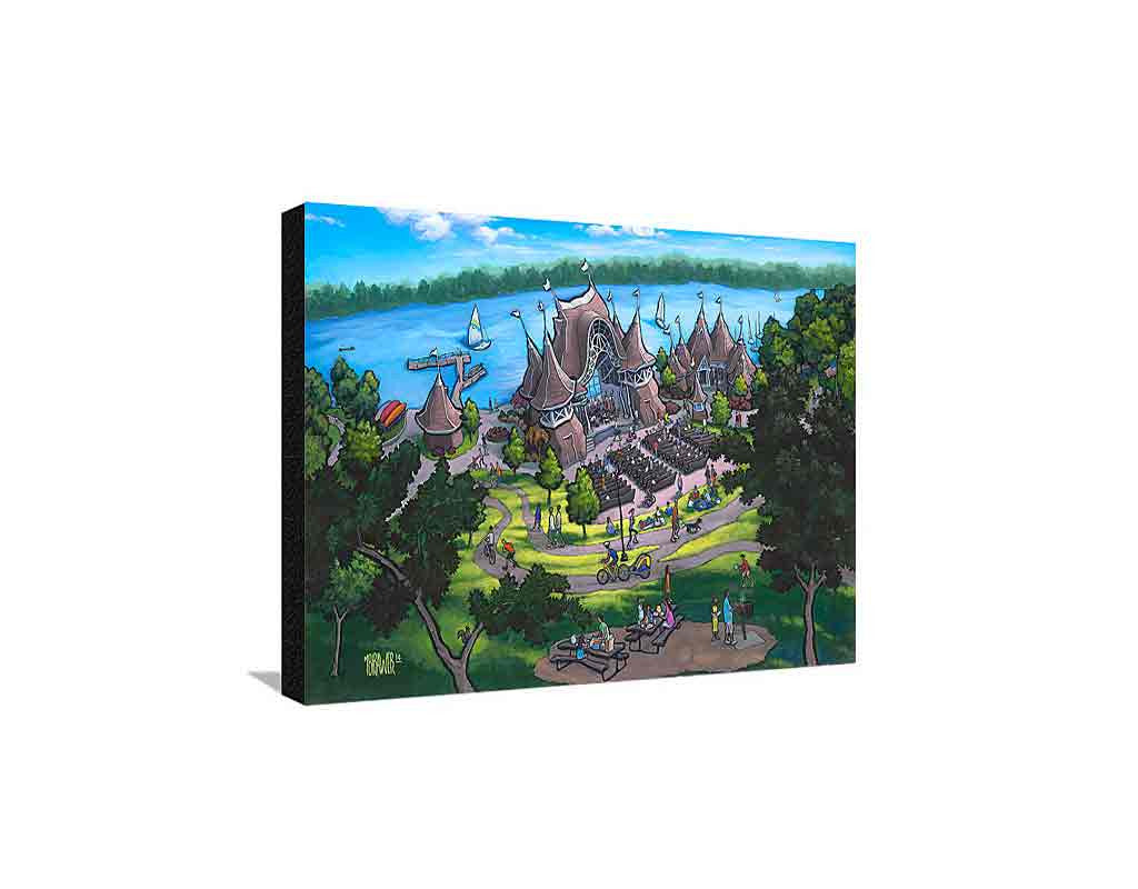 Lake Harriet Medium Canvas