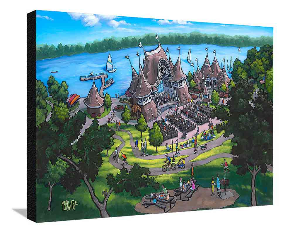 Lake Harriet XL Canvas