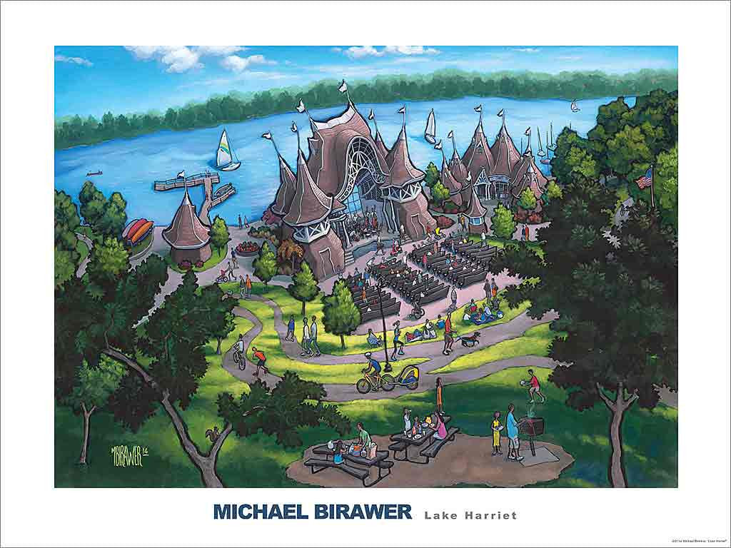 Lake Harriet Poster