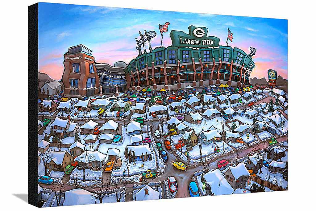 Sunday Afternoon Green Bay XL Canvas