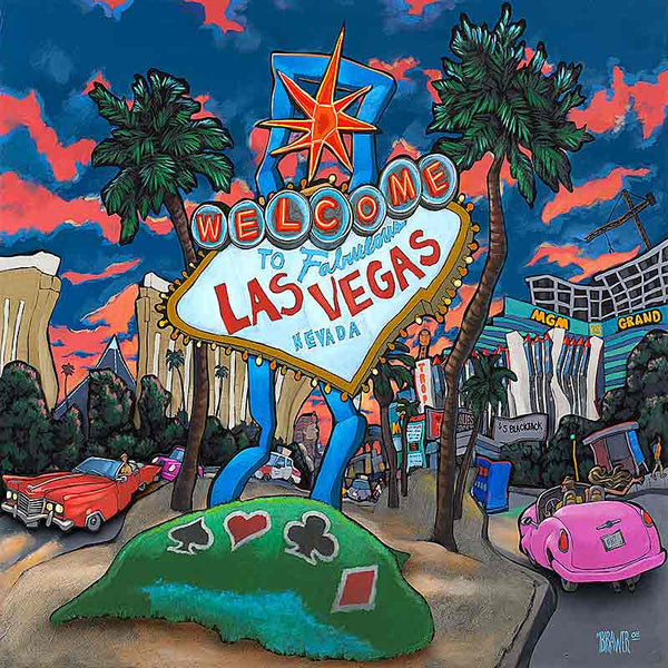 Welcome to Las Vegas Original Painting