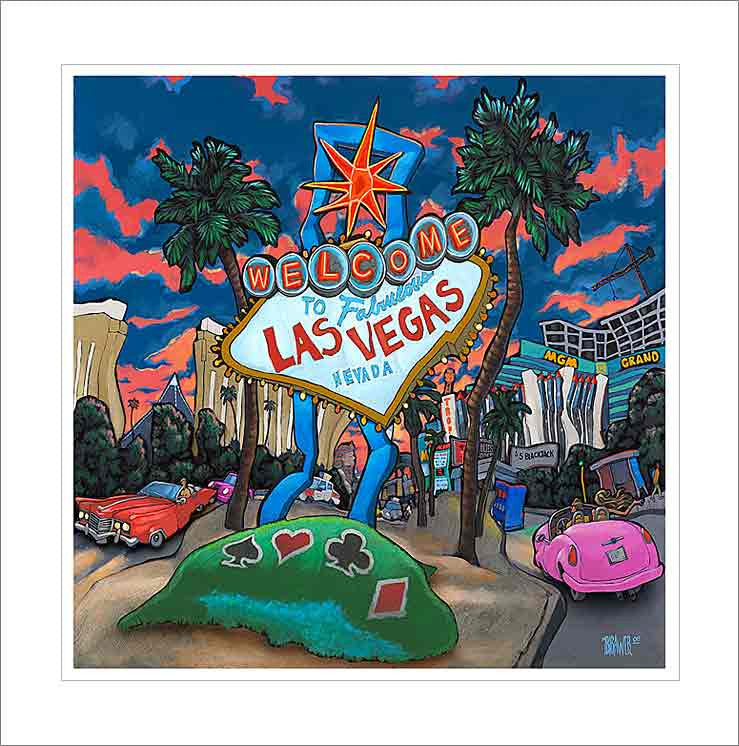 Welcome to Las Vegas Small Canvas