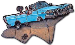 Low Rider Cutout Painting