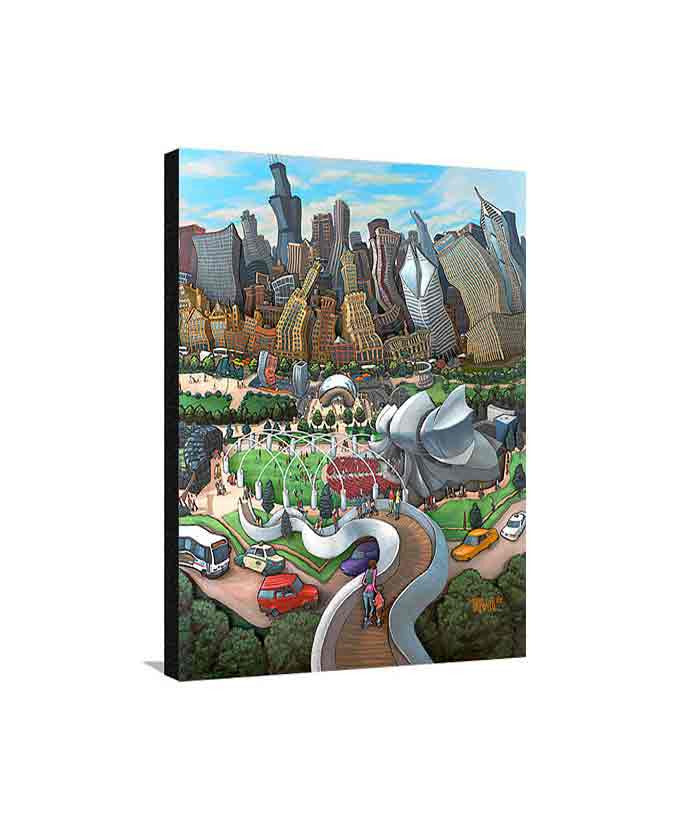 Millennium Park Medium Canvas