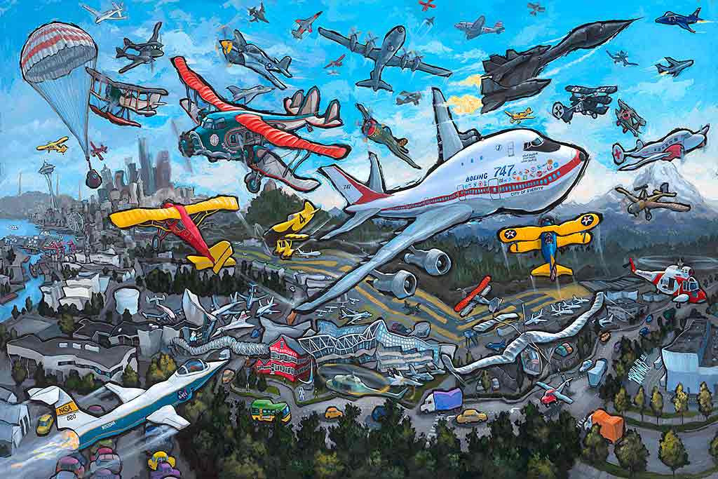 Museum of Flight Original Painting
