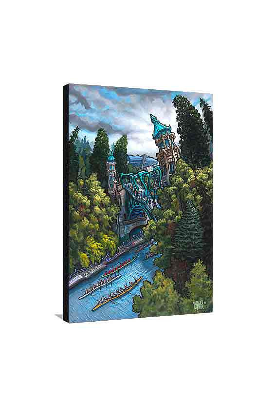 Montlake Cut Medium Canvas