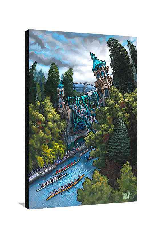 Montlake Cut Large Canvas