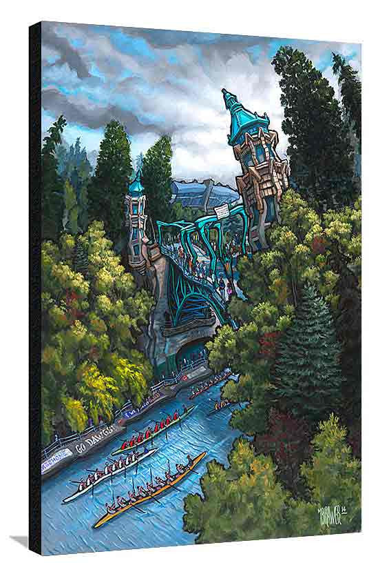 Montlake Cut XL Canvas