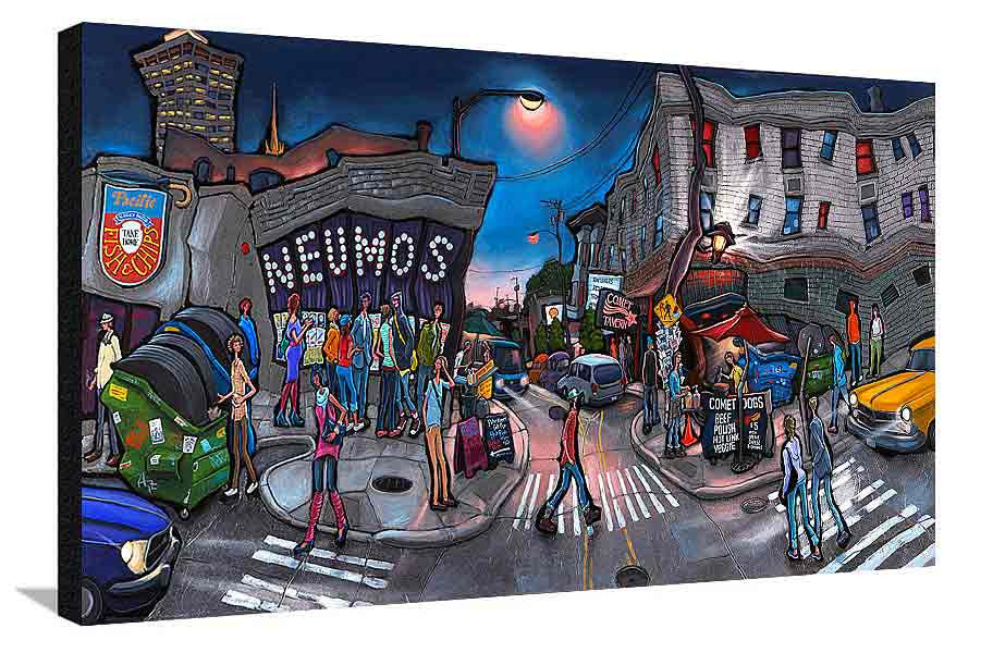 Neumos & Comet XL Canvas