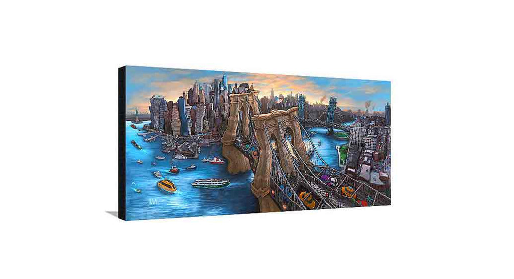 Brooklyn Bridge New York Medium Canvas