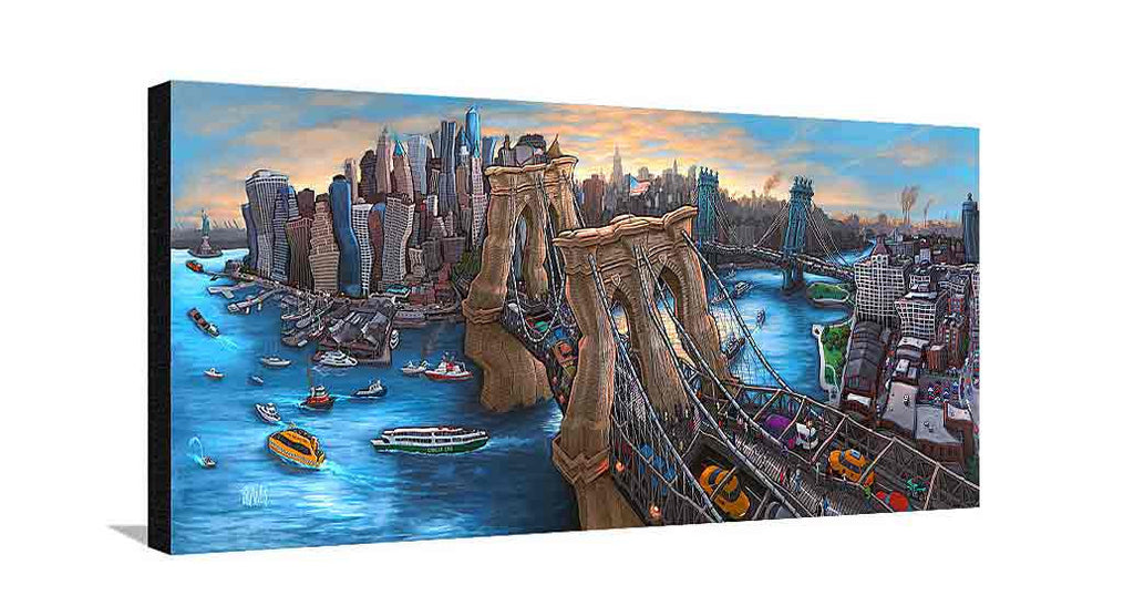 Brooklyn Bridge New York Large Canvas