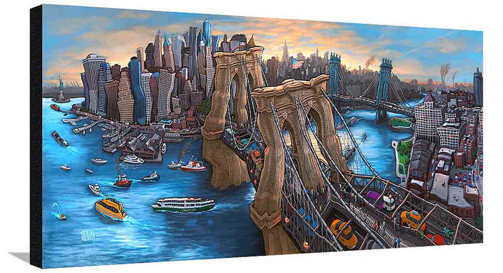 Brooklyn Bridge New York XL Canvas