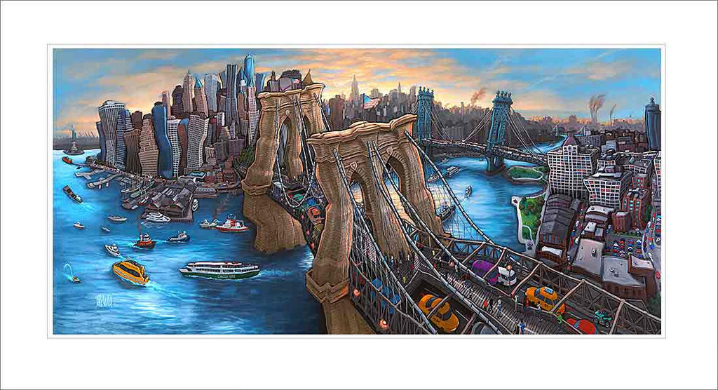 Brooklyn Bridge New York Small Canvas