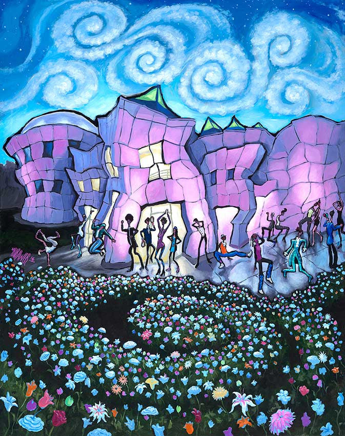 Image result for michaelbirawer paisley park painting