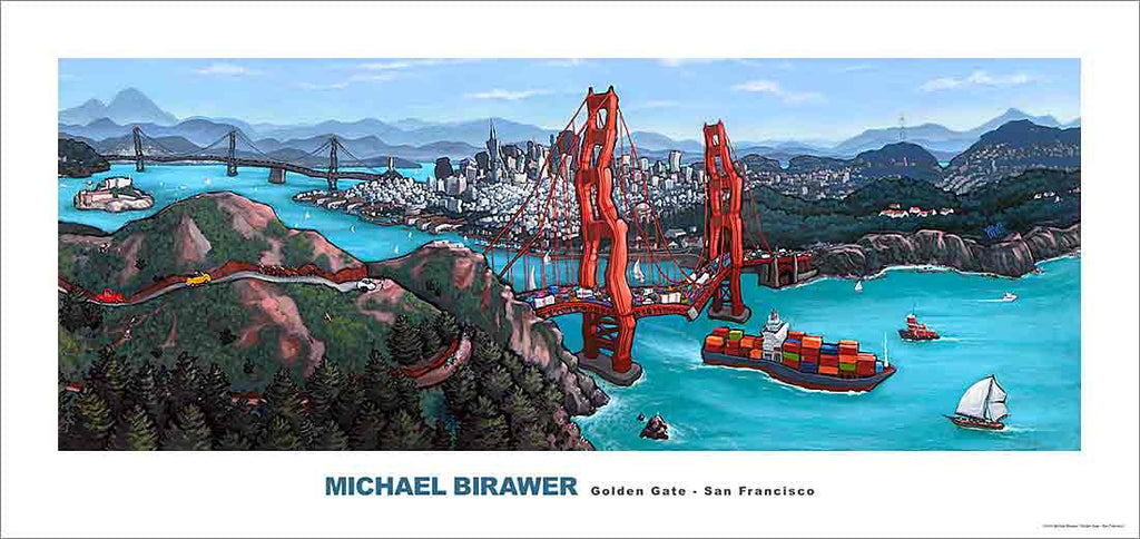 Golden Gate San Francisco Poster