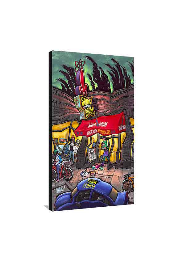 Sonic Boom Records Medium Canvas
