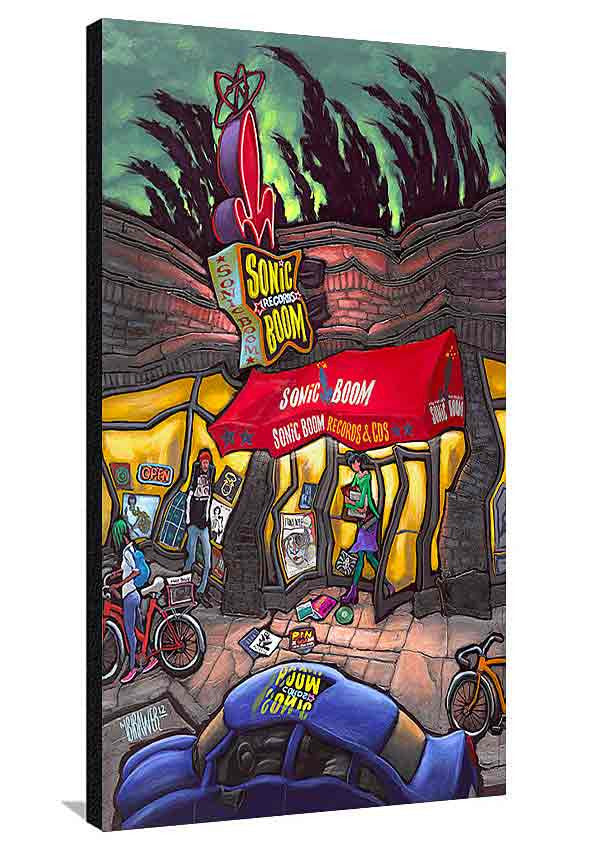 Sonic Boom Records XL Canvas