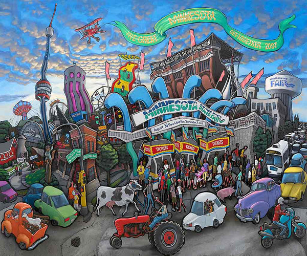 Minnesota State Fair Original Painting