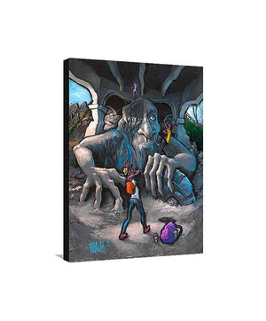 Fremont Troll Medium Canvas