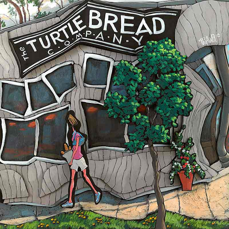 Turtle Bread Co. Original Painting