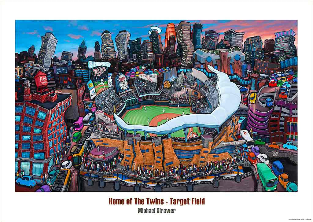 Target Field - Home of the Twins Poster