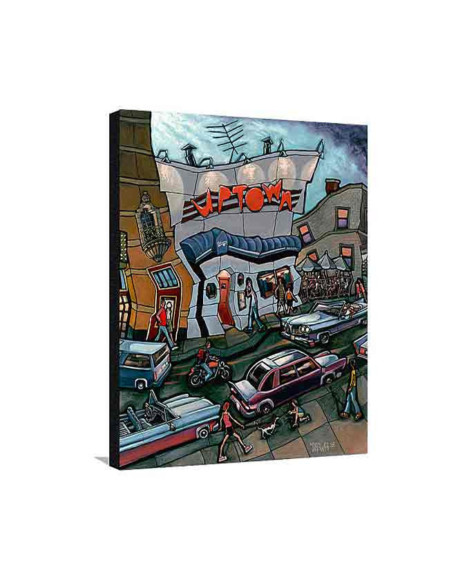 Uptown Bar Medium Canvas