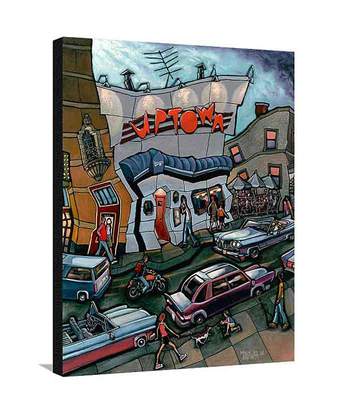 Uptown Bar Large Canvas