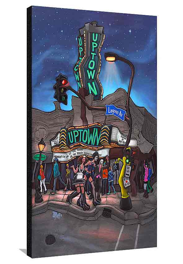 Uptown Theater XL Canvas