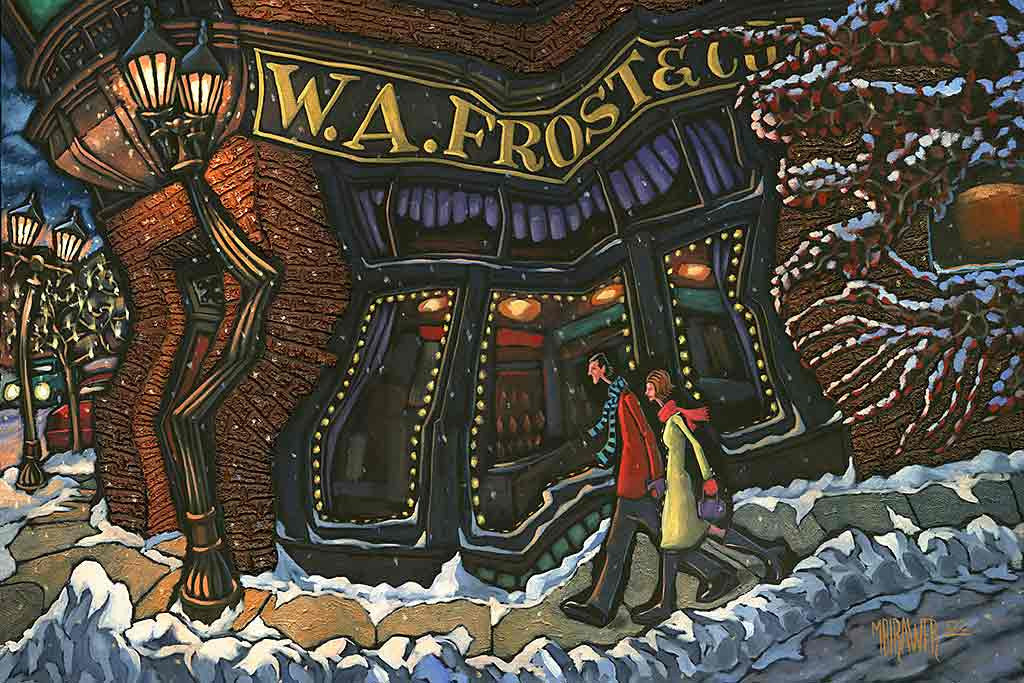 W.A. Frost Original Painting ...