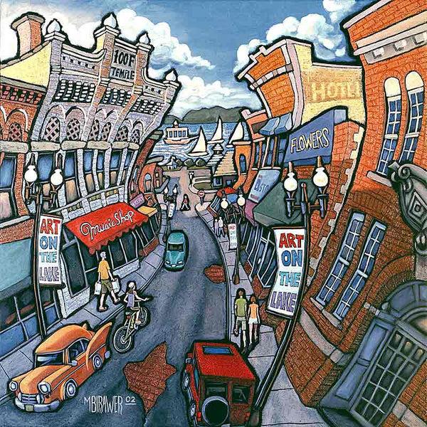 Water Street Original Painting