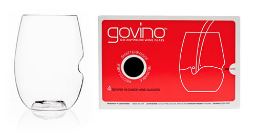 Govino 16 oz Wine glasses 4 count - Ship Chic