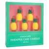 Pineapple Cake Candle 5 Set - Blazing Yellow