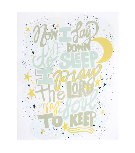Thimblepress Sleeping Prayer Print 8 x 10 - Ship Chic
