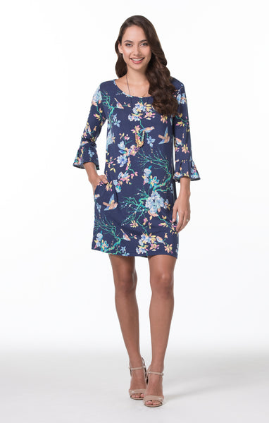 Tori Richard Bird in Hand Lana Dress - Ship Chic