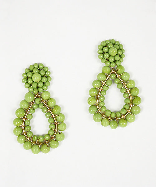Lisi Lerch Margo Earrings - Lime - Ship Chic