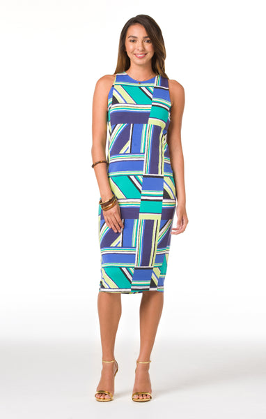 Tori Richard Right Angles Karley Dress - Ship Chic