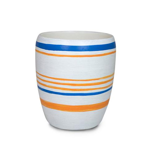 Mer-Sea Tossa Striped Cup Candle - Ship Chic